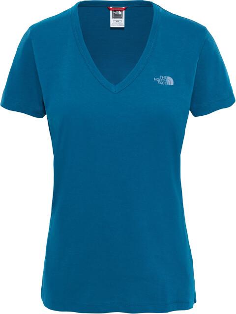 The North Face Simple Dom - T-shirt manches courtes Femme - bleu